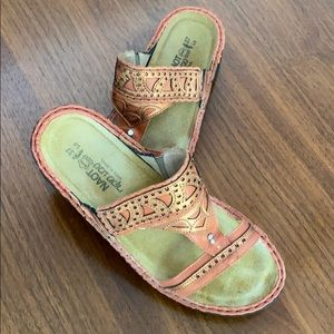 NAOT sandals with bling  - size 6
